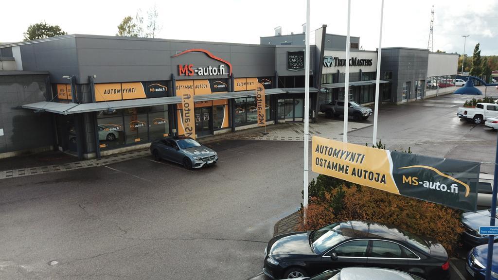 MS-auton Vantaan myymälä